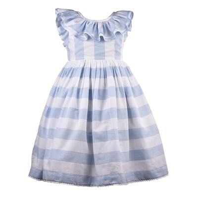 CK Blue Stripe Dress