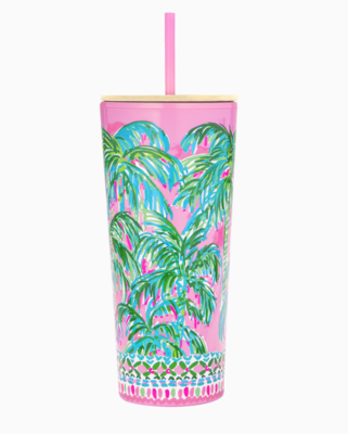 Lilly Tumbler with Straw