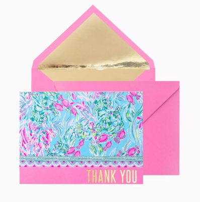 Lilly Thank You Notes