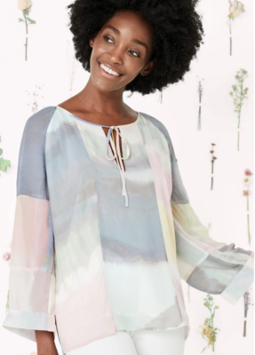 Ecru Adams Pastel Top