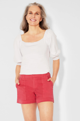 Ecru Nantucket Red Chino Short