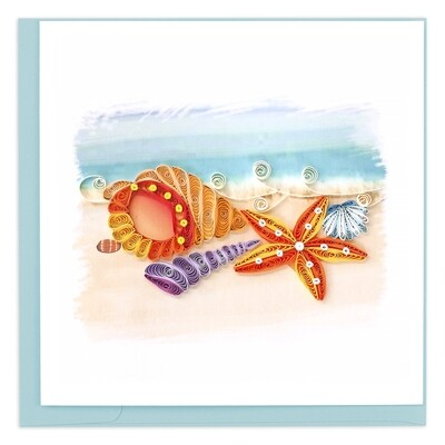 Quilling Cards - Seashells