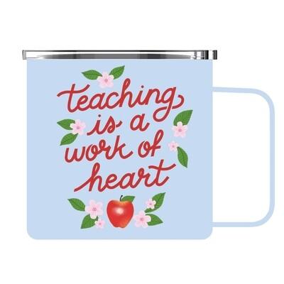Teacher Work of Heart Mug