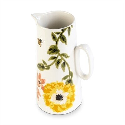 Bee Floral Pitcher