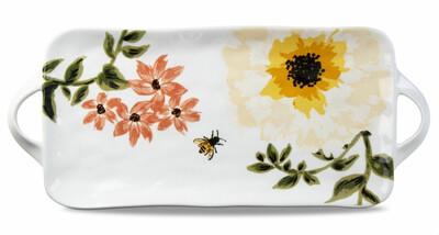 Bee Floral Platter