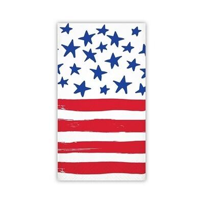Guest Towels - Amer. Flag
