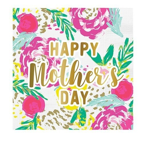 Cocktail Napkin - Happy Mother's Day