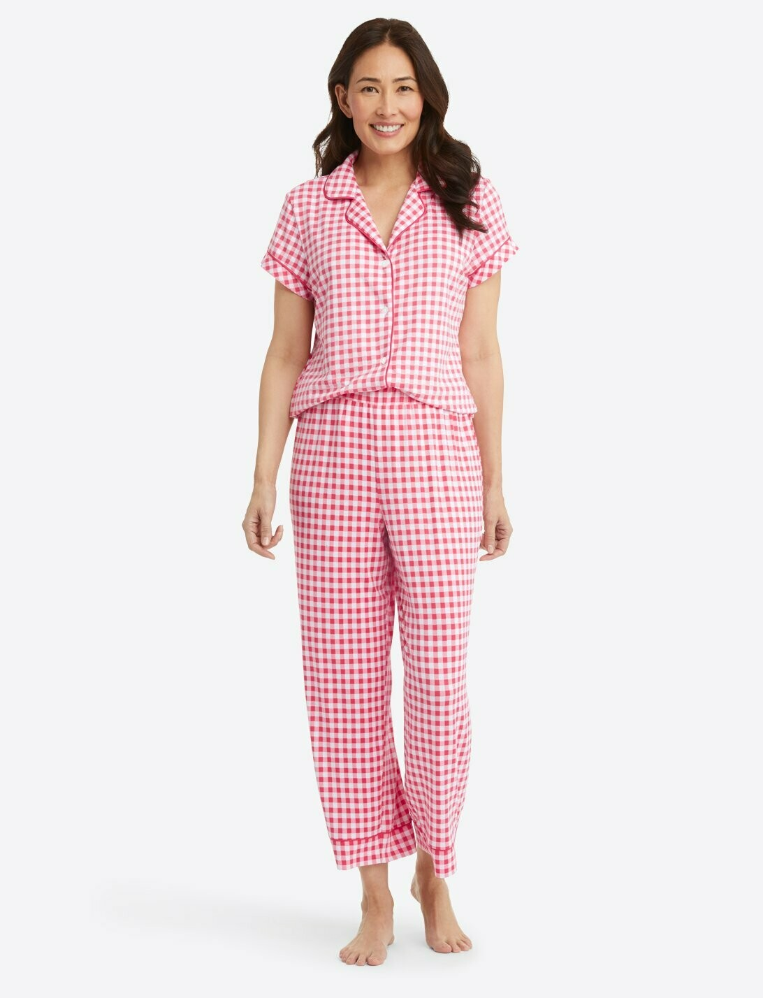 Draper James Raspberry Pink PJ Pant Set