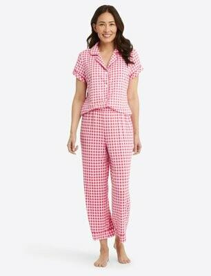 Draper James Raspberry Pink PJ Pant Set