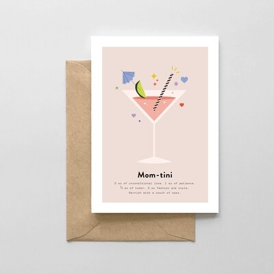 Mom-Tini Card