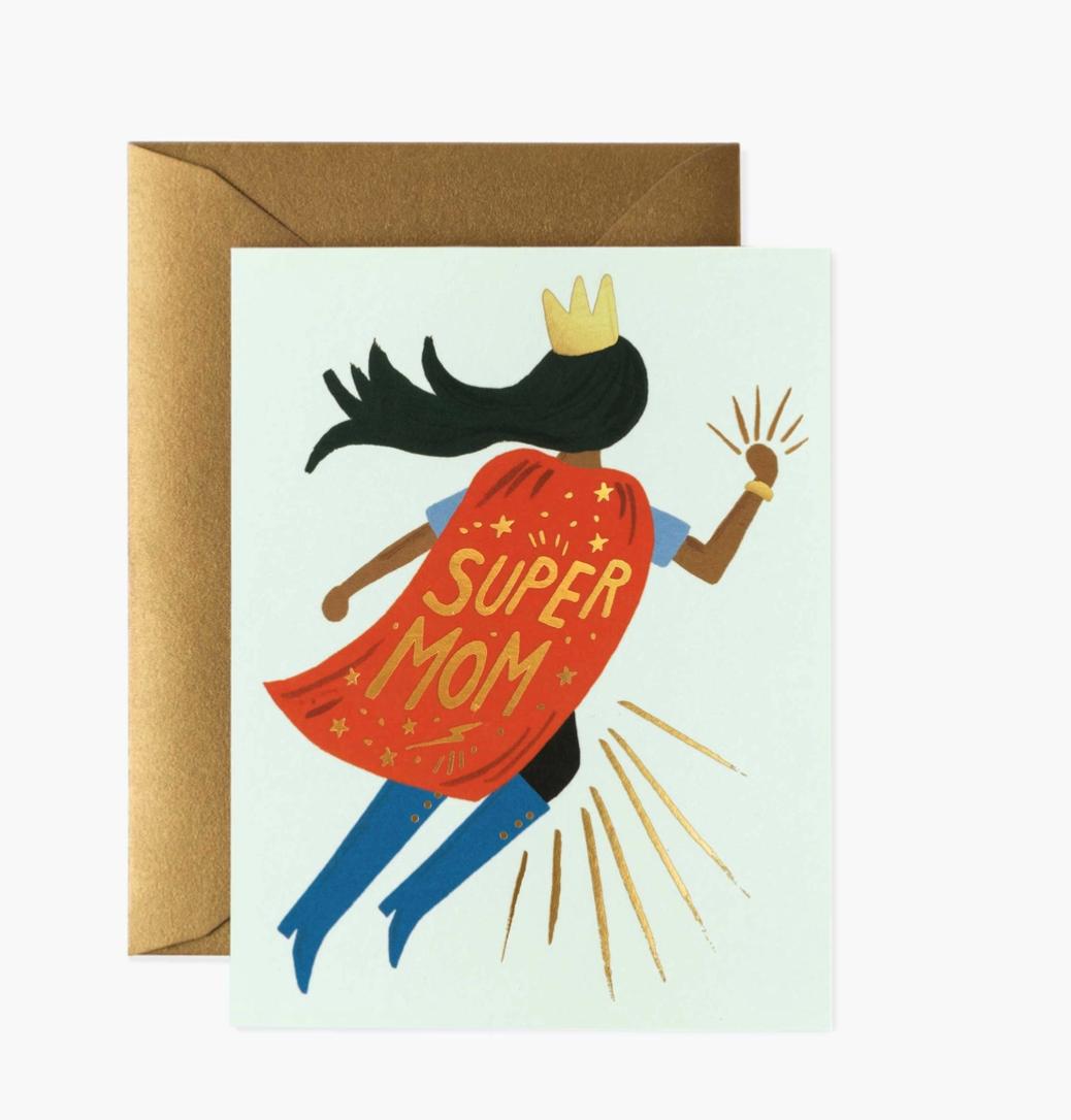 Super Mom Soaring Card