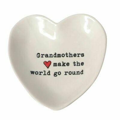 Grandma Heart Trinket Tray
