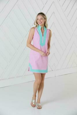 Sail to Sable Pink Sleeveless Tunic