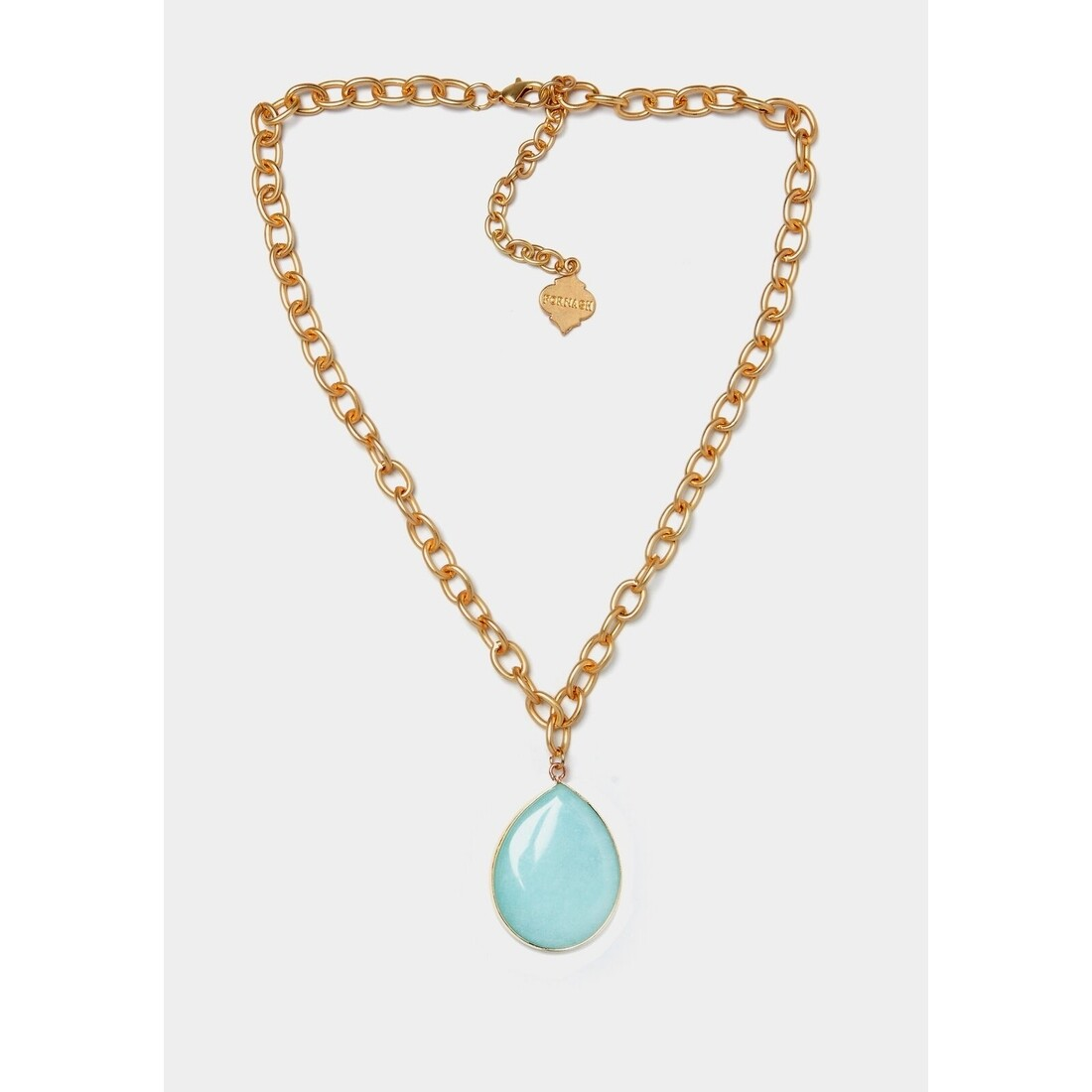 Trinity Necklace Aqua
