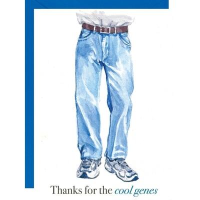 Cool Genes Dad Card