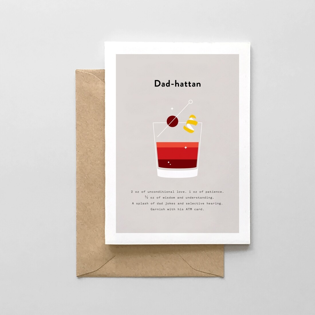Dad-hattan Card
