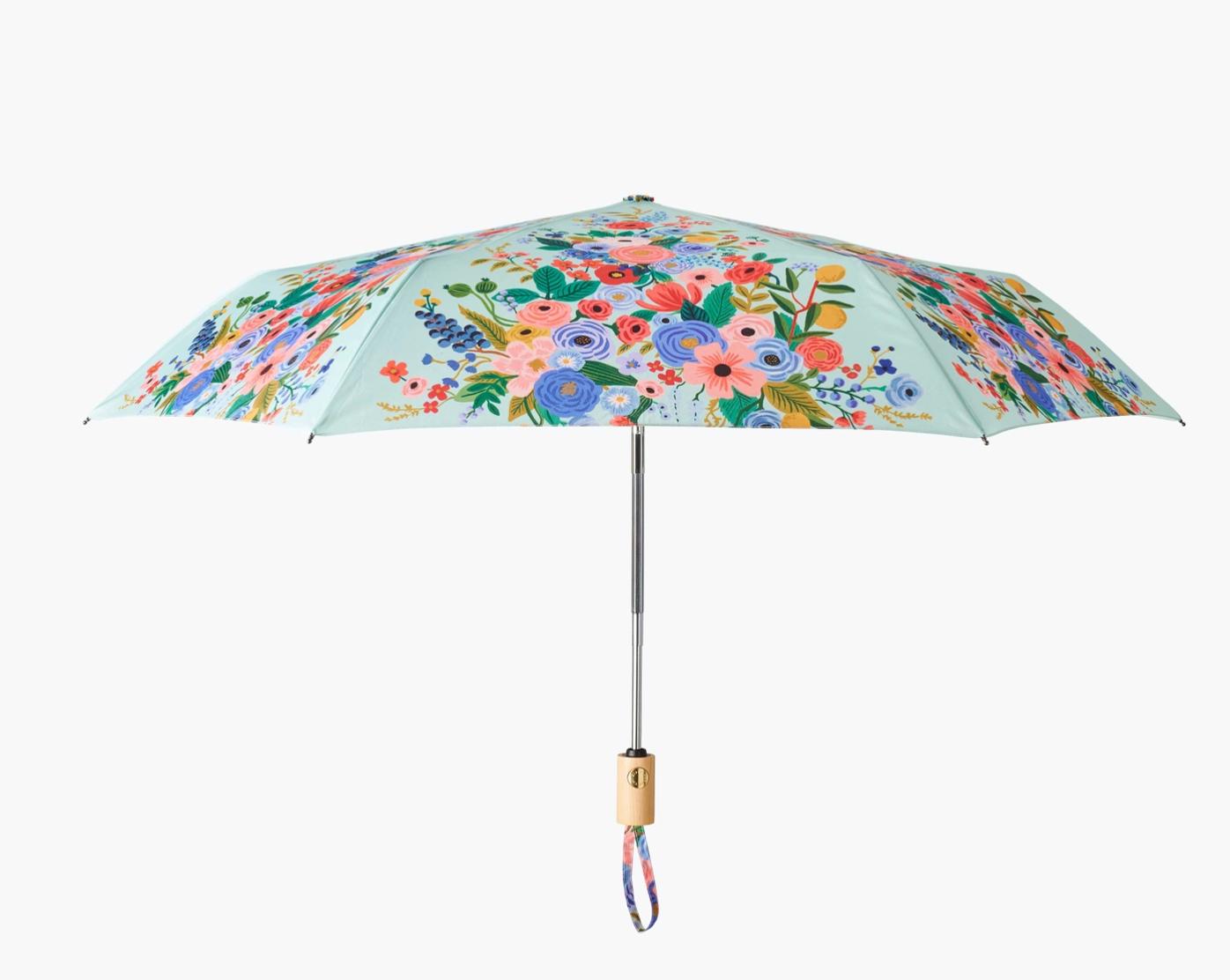 Rifle Paper Garden Party Travel Umbrella