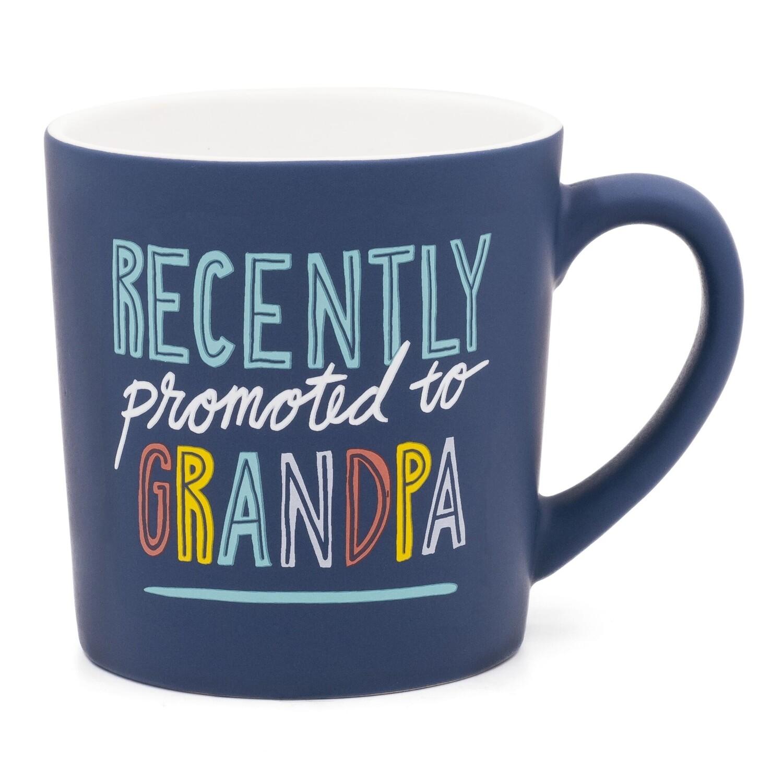 Promoted to Grandpa Mug