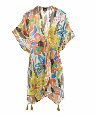 Echo Floral Duster - Light