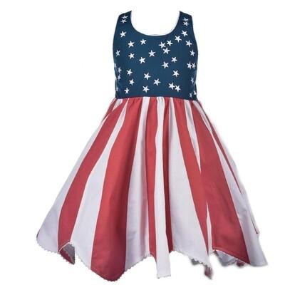4th of July Halter Dress