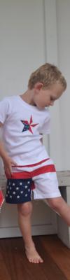 Babt/Toddler Flag Shorts