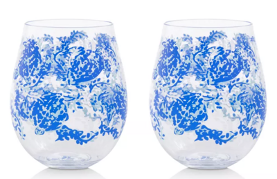Lilly Acrylic Wine Glasses