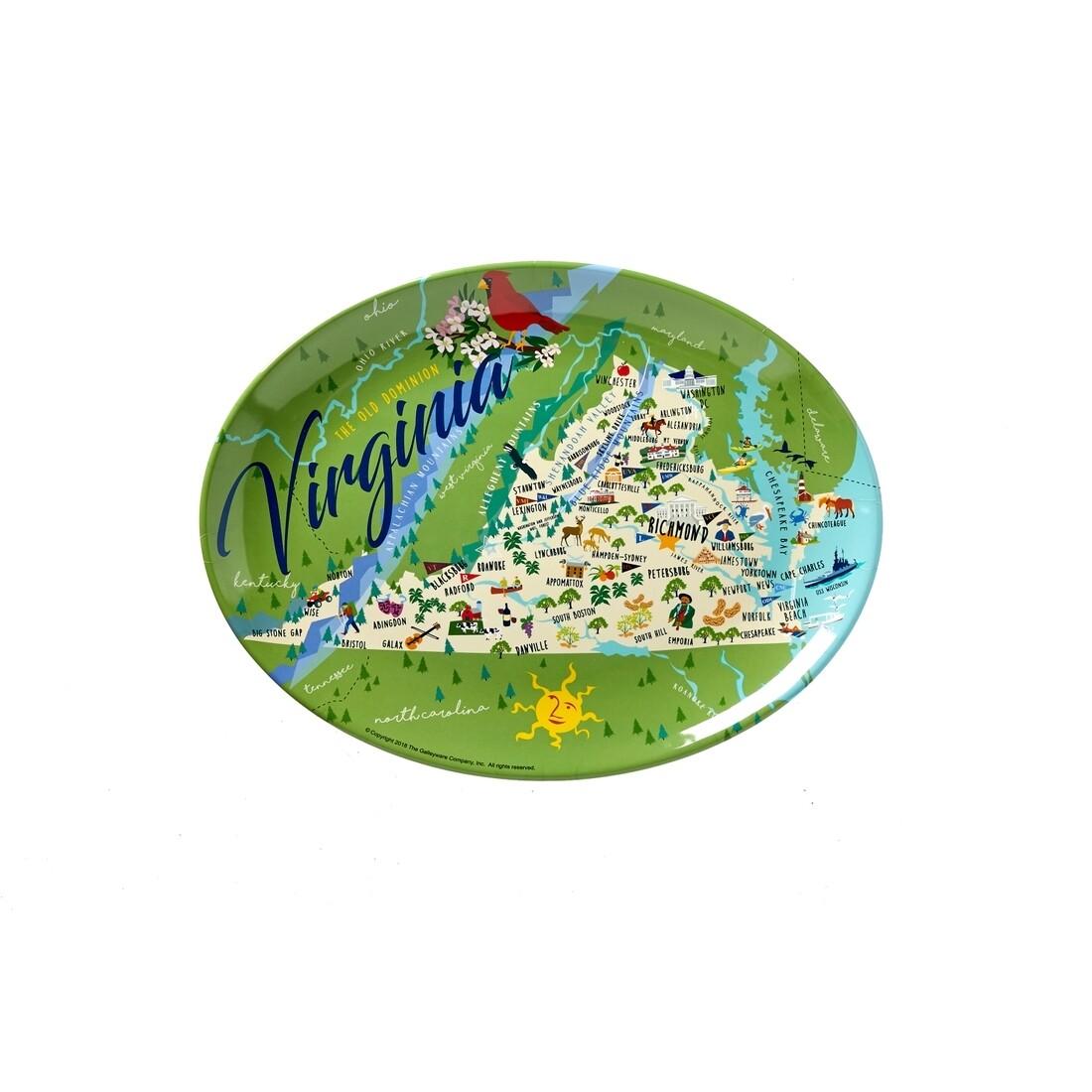 Virginia Melamine Platter