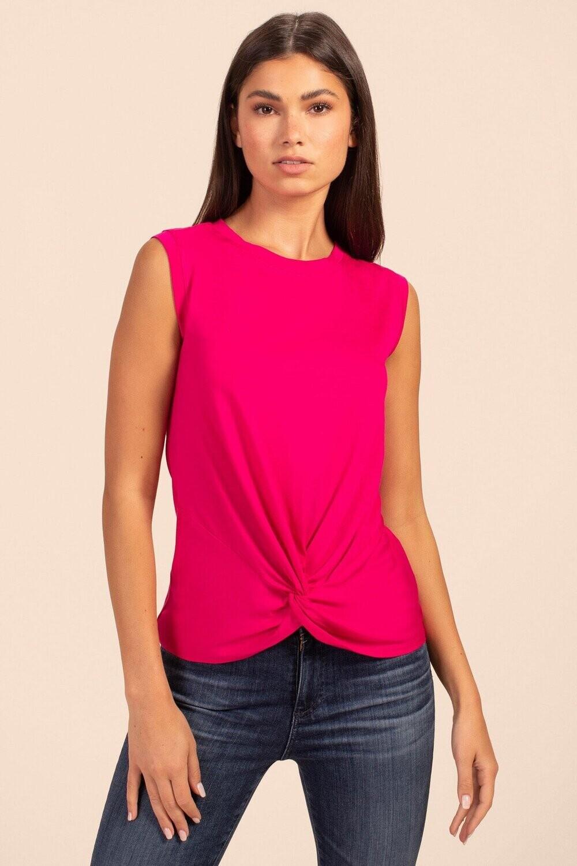 Trina Eve Top - Pink Flash