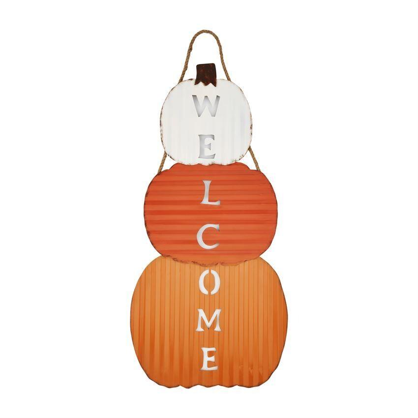 Pumpkin Stack Door Hanger