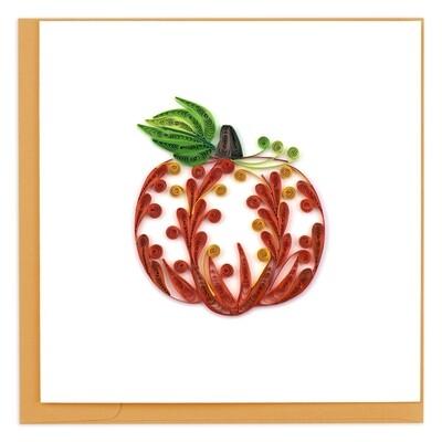 Quilling Cards - Pumpkin