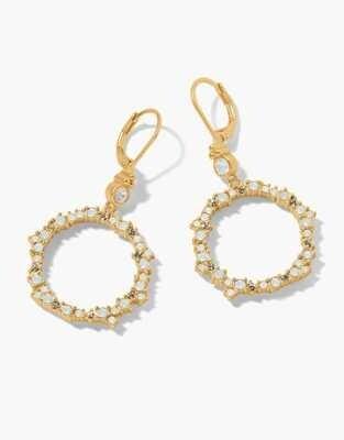 Spartina Fairy Light Earrings Opal