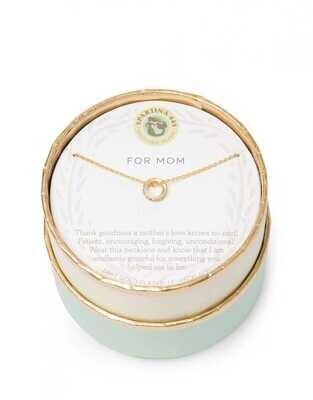 """Spartina Sea La Vie Necklace 18"""" Mom/Ring"""