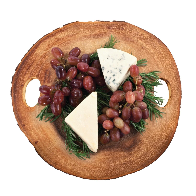 Twine Wood Slice Cheese Board