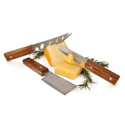 Twine Riveted Cheese Knives
