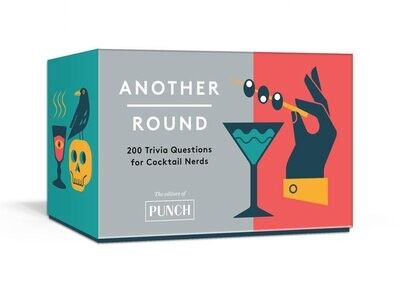 Another Round Cocktail Trivia Cards