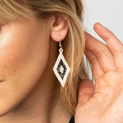 Ink + Alloy Luxe Beaded Earrings