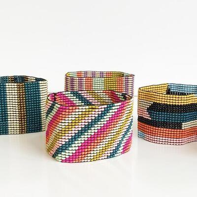 Ink + Alloy Beaded Stretch Bracelets