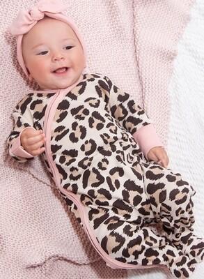 Tesa Babe Leopard Footie