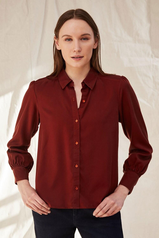 Ecru MacGraw Tencel Easy Shirt