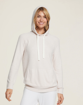 Barefoot Hooded Pullover - Pink