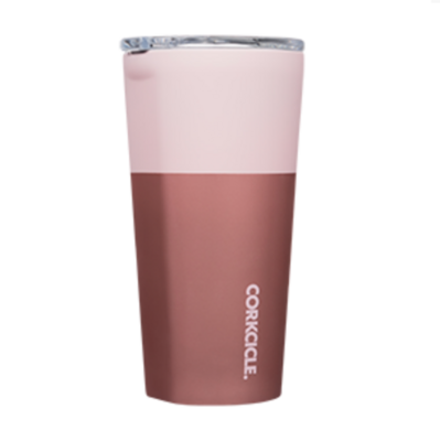 Corkcicle - Tumbler - 16oz Color Block Pink Lady