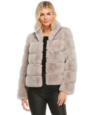 Fab Fur Posh Jacket Dove