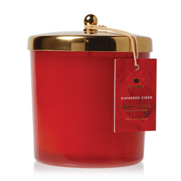 Thymes Simmered Cider Candle Statement