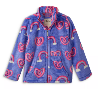 Hatley Rainbow Zip Fleece