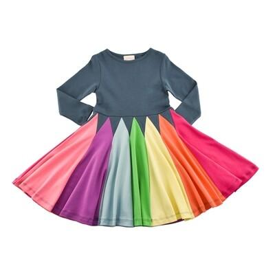 Radiant Twirl Dress