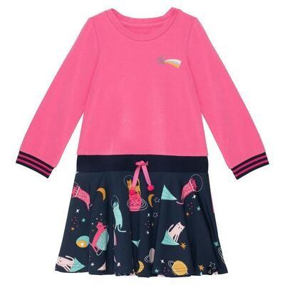 Deux Par Deux Jersey Pink Dress