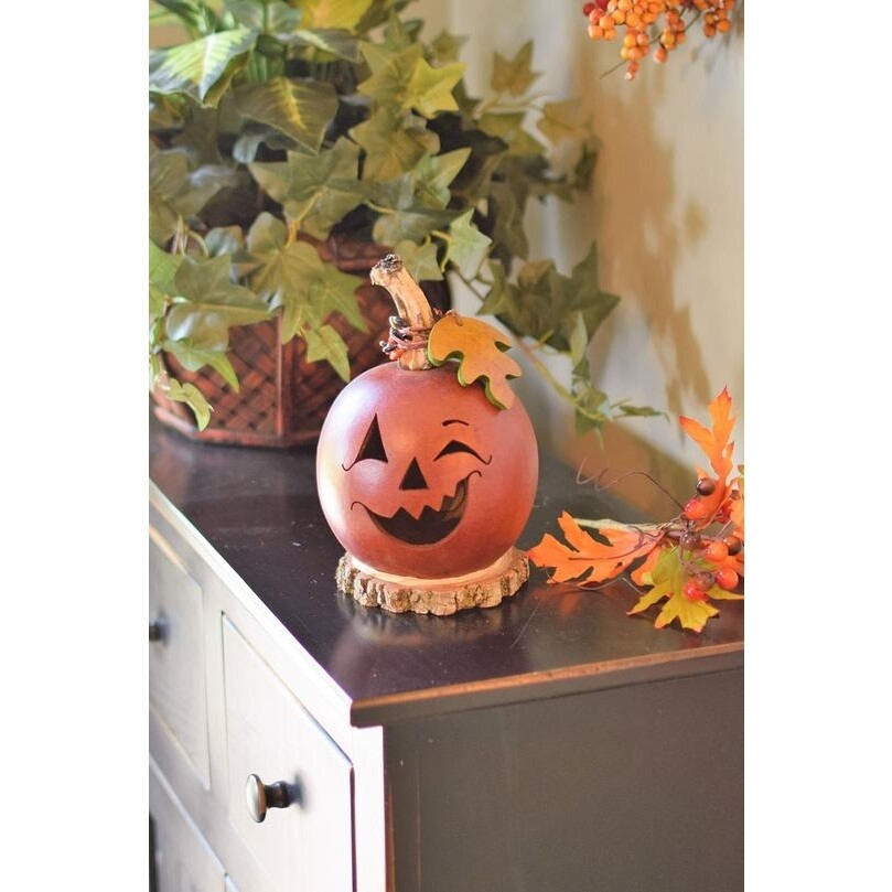 Frederick Jack O'latern Small Handcrafted Gourd