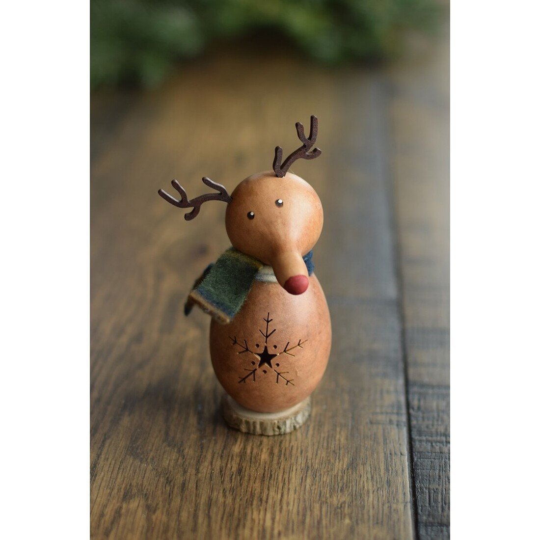 Lil Dash Reindeer Gourd