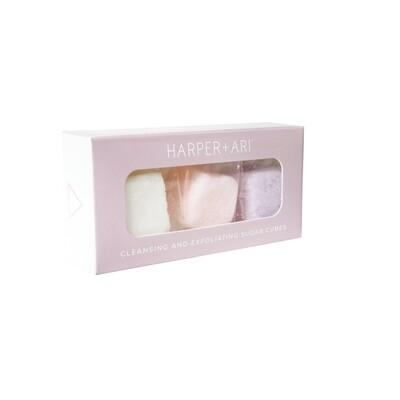 Exfoliating Sugar Cubes Mini Giftbox  Luxe