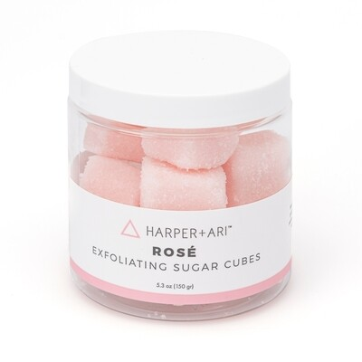 Exfoliating Sugar Cubes 5.5 oz  - Rosé